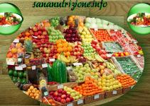 frutta e verdura cinque sette porzioni
