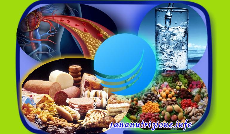 Colesterolo ed acqua o acqua e colesterolo