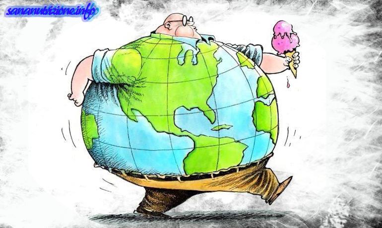 Perchè il mondo ingrassa cosi velocemente