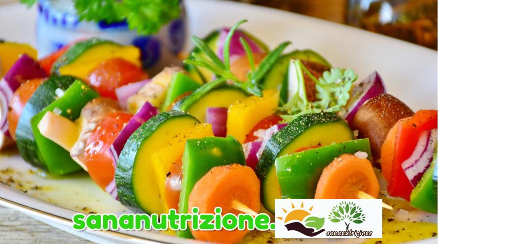 Combinazioni alimentari e verdure.